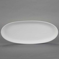 Picture of Ceramic Bisque 21783 Oval French Bread Plate