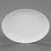 Picture of Ceramic Bisque 28575 Coupe Oval Platter