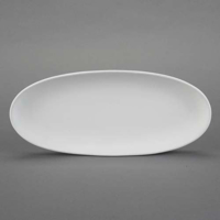 Picture of Ceramic Bisque 29858 Small Oval French Bread Plate