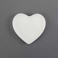 Picture of Ceramic Bisque 30614 Small Heart Plate