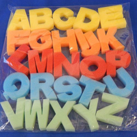 Picture of Uppercase Alphabet Sponge Letters 26pc