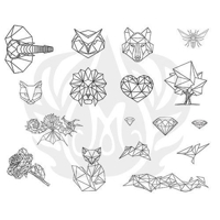 Picture of Mayco Designer Silkscreen - Faceted Designs