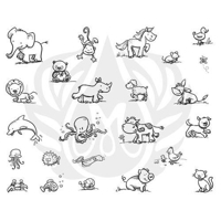 Picture of Mayco Designer Silkscreen - Cutesy Animals