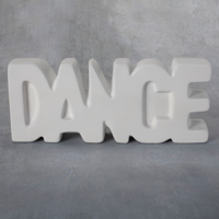Picture of Ceramic Bisque 38424 Dance Plaque