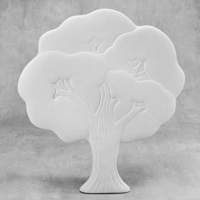 Picture of Ceramic Bisque 38562 Tree plaque