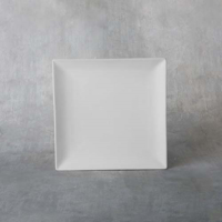 Picture of Ceramic Bisque 38313 Square Coupe Dinner Plate