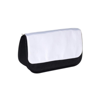 Photo of Sublimation Blank Pencil Case Black with White Sublimation Area